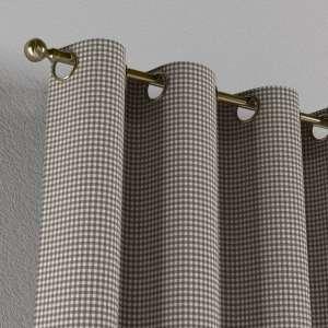 Žiedinio klostavimo užuolaidos 130 x 260 cm (plotis x ilgis) kolekcijoje Quadro, audinys: 136-10