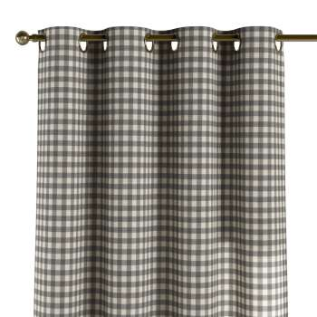 Eyelet curtains in collection Quadro, fabric: 136-11