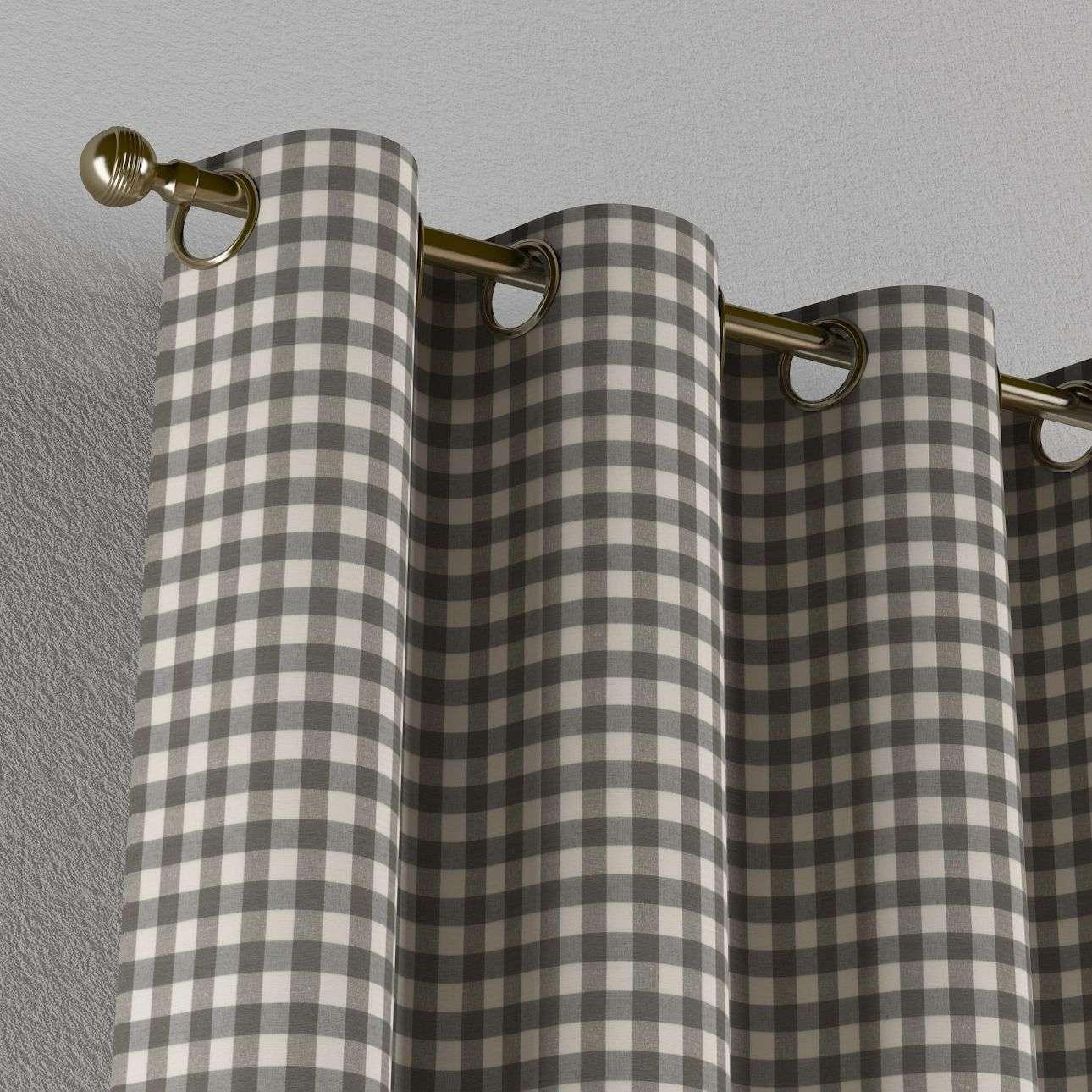 Zasłona na kółkach 1 szt. 1szt 130x260 cm w kolekcji Quadro, tkanina: 136-11