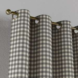 Eyelet curtains 130 x 260 cm (51 x 102 inch) in collection Quadro, fabric: 136-11
