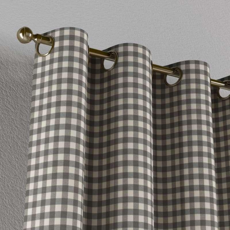Záves s kolieskami V kolekcii Quadro, tkanina: 136-11
