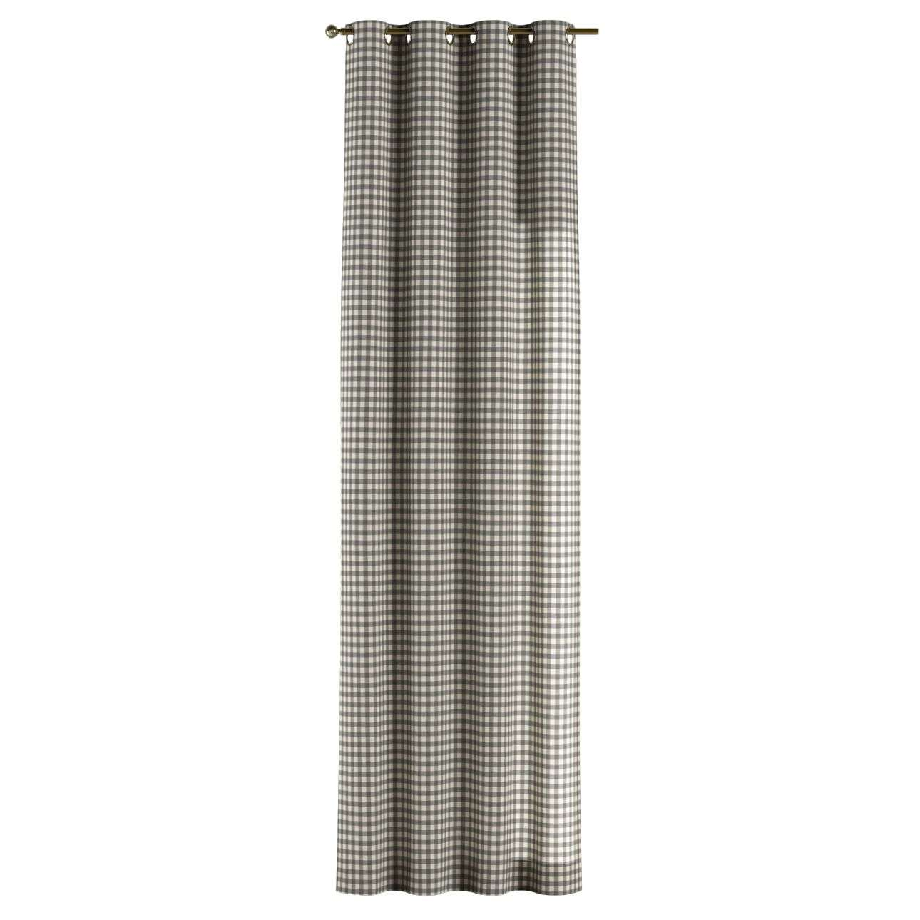 Gardin med maljer 1 stk. 130 × 260 cm fra kolleksjonen Quadro, Stoffets bredde: 136-11