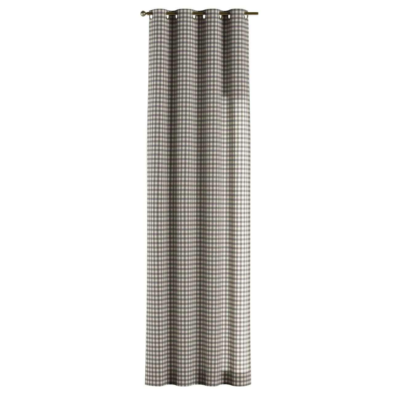 Žiedinio klostavimo užuolaidos kolekcijoje Quadro, audinys: 136-11