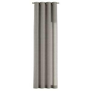 Žiedinio klostavimo užuolaidos 130 x 260 cm (plotis x ilgis) kolekcijoje Quadro, audinys: 136-11