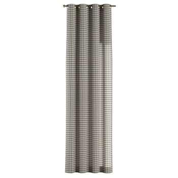 Žiedinio klostavimo užuolaidos 130 × 260 cm (plotis × ilgis) kolekcijoje Quadro, audinys: 136-11