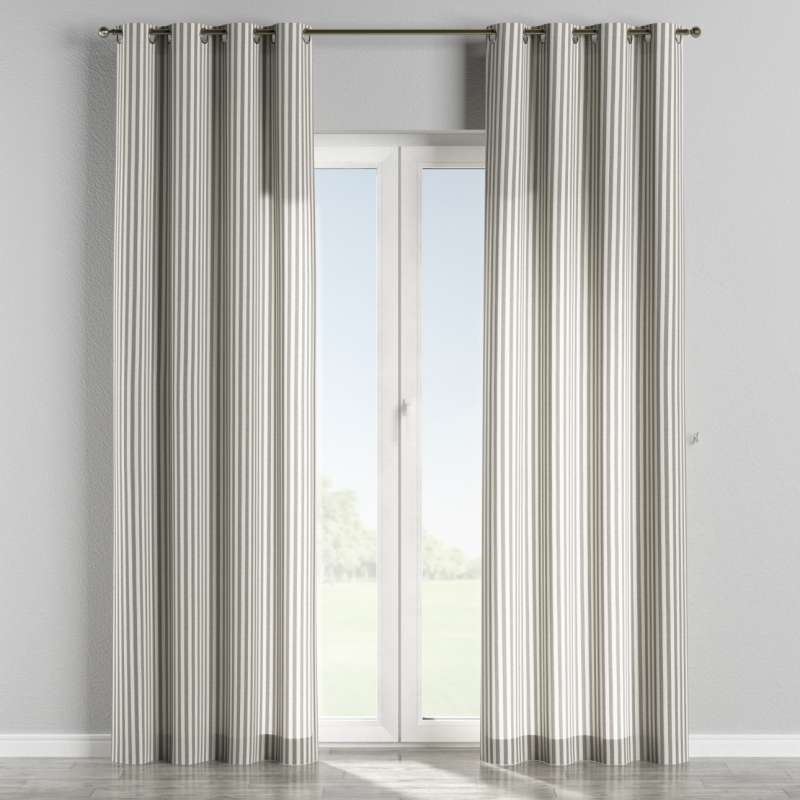 Eyelet curtain in collection Quadro, fabric: 136-12