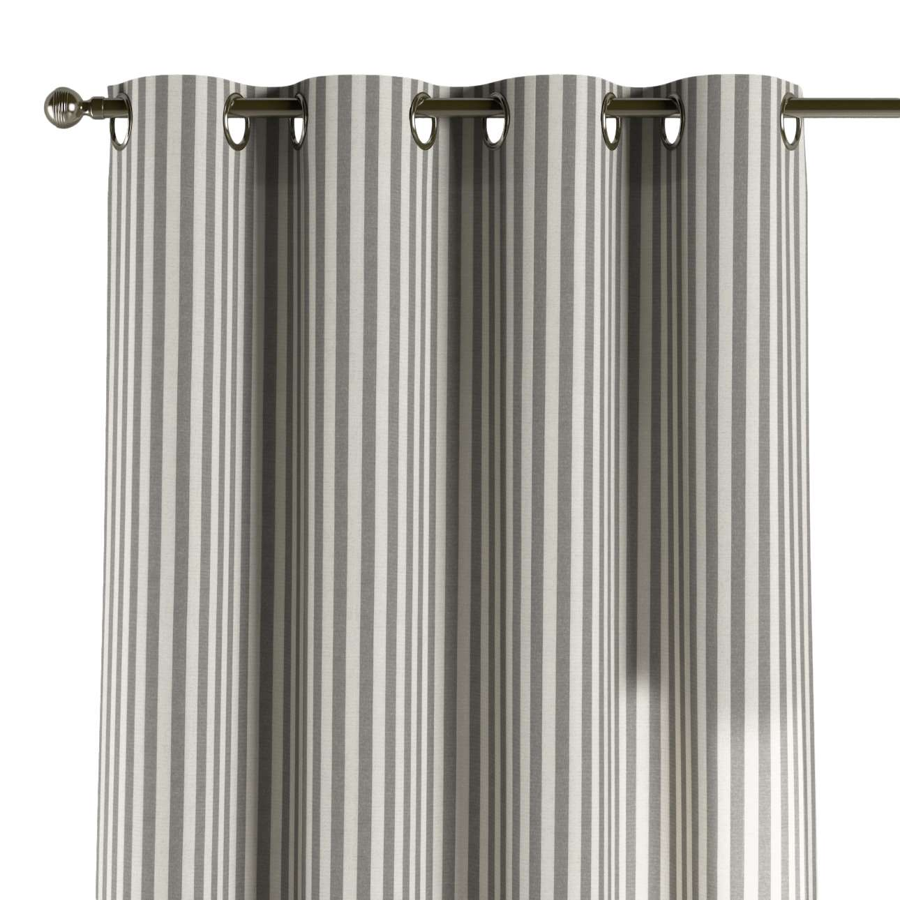 Gardin med maljer 1 stk. fra kolleksjonen Quadro, Stoffets bredde: 136-12