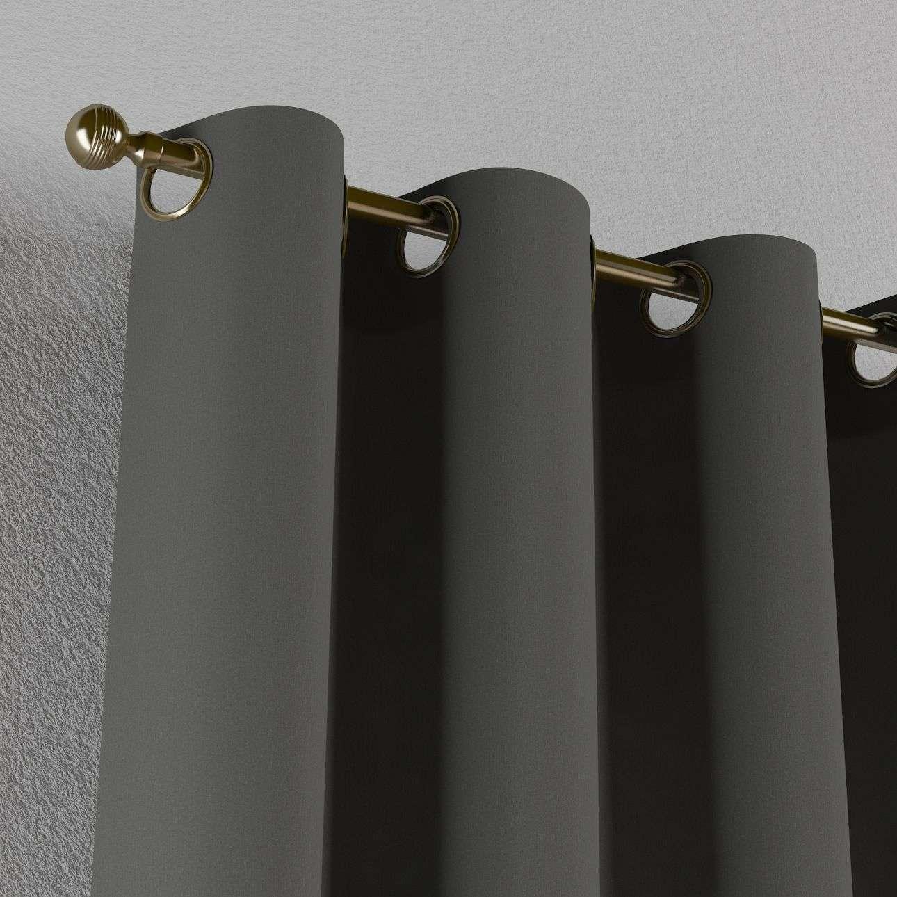 Zasłona na kółkach 1 szt. 1szt 130x260 cm w kolekcji Quadro, tkanina: 136-14