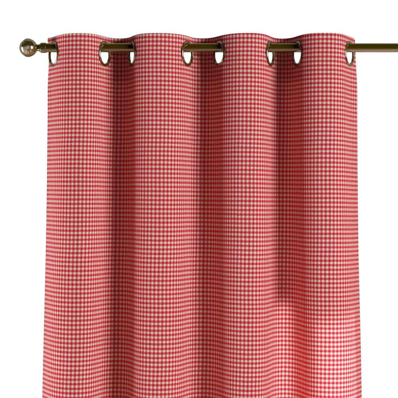 Žiedinio klostavimo užuolaidos 130 x 260 cm (plotis x ilgis) kolekcijoje Quadro, audinys: 136-15