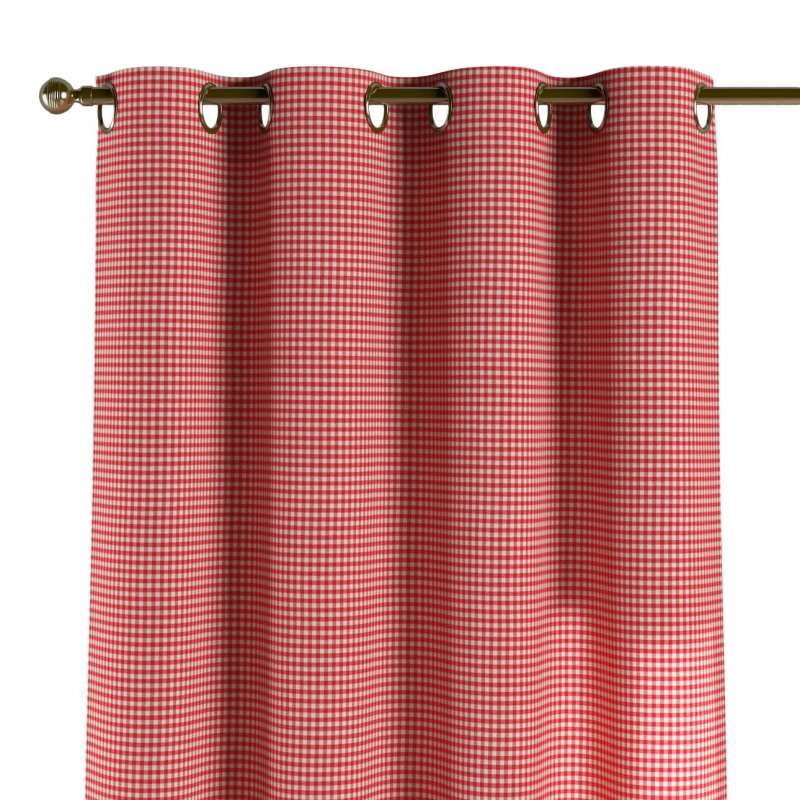 Eyelet curtain in collection Quadro, fabric: 136-15