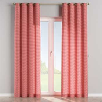 Eyelet curtains 130 x 260 cm (51 x 102 inch) in collection Quadro, fabric: 136-15
