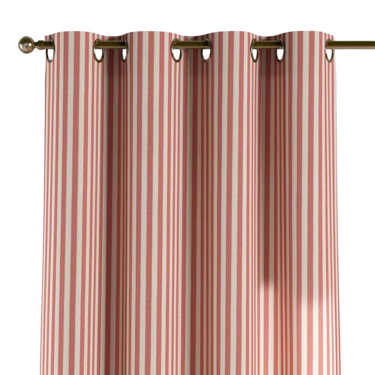 Gardin med maljer 1 stk. 130 × 260 cm fra kolleksjonen Quadro, Stoffets bredde: 136-17