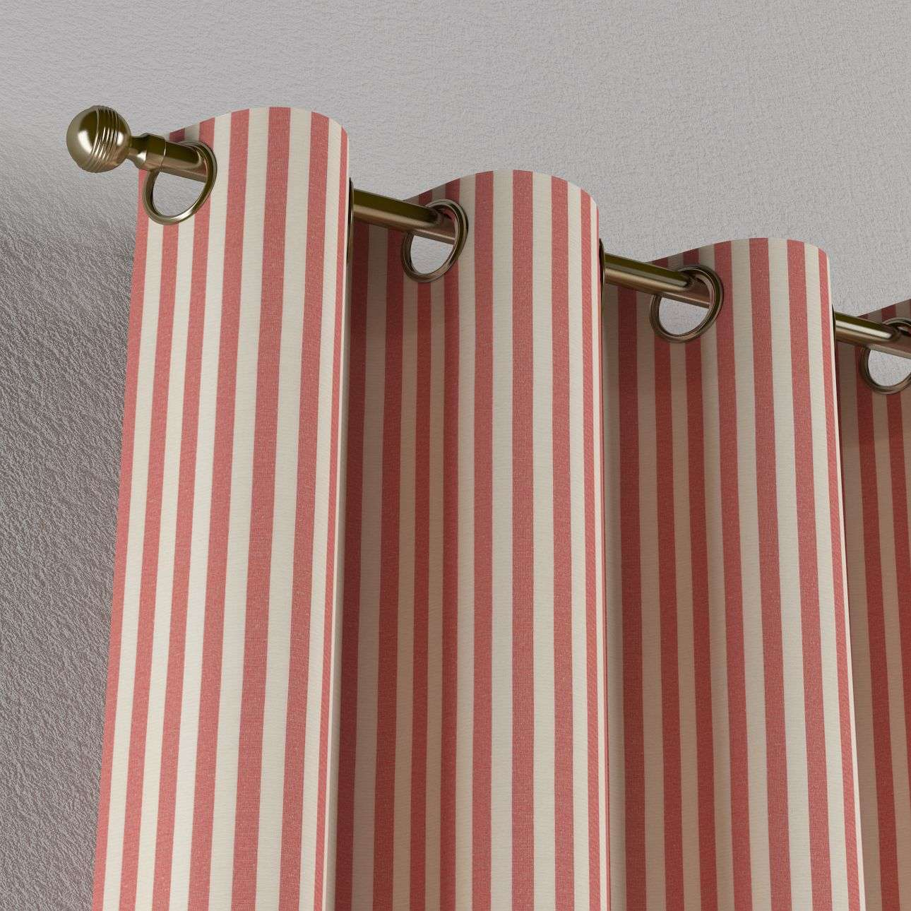 Eyelet curtains 130 x 260 cm (51 x 102 inch) in collection Quadro, fabric: 136-17