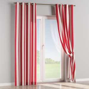 Eyelet curtains 130 x 260 cm (51 x 102 inch) in collection Comic Book & Geo Prints, fabric: 137-54