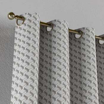 Eyelet curtains 130 x 260 cm (51 x 102 inch) in collection Rustica, fabric: 138-18
