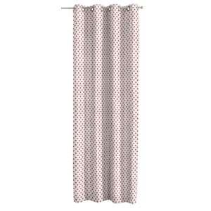 Žiedinio klostavimo užuolaidos 130 x 260 cm (plotis x ilgis) kolekcijoje Ashley , audinys: 137-70