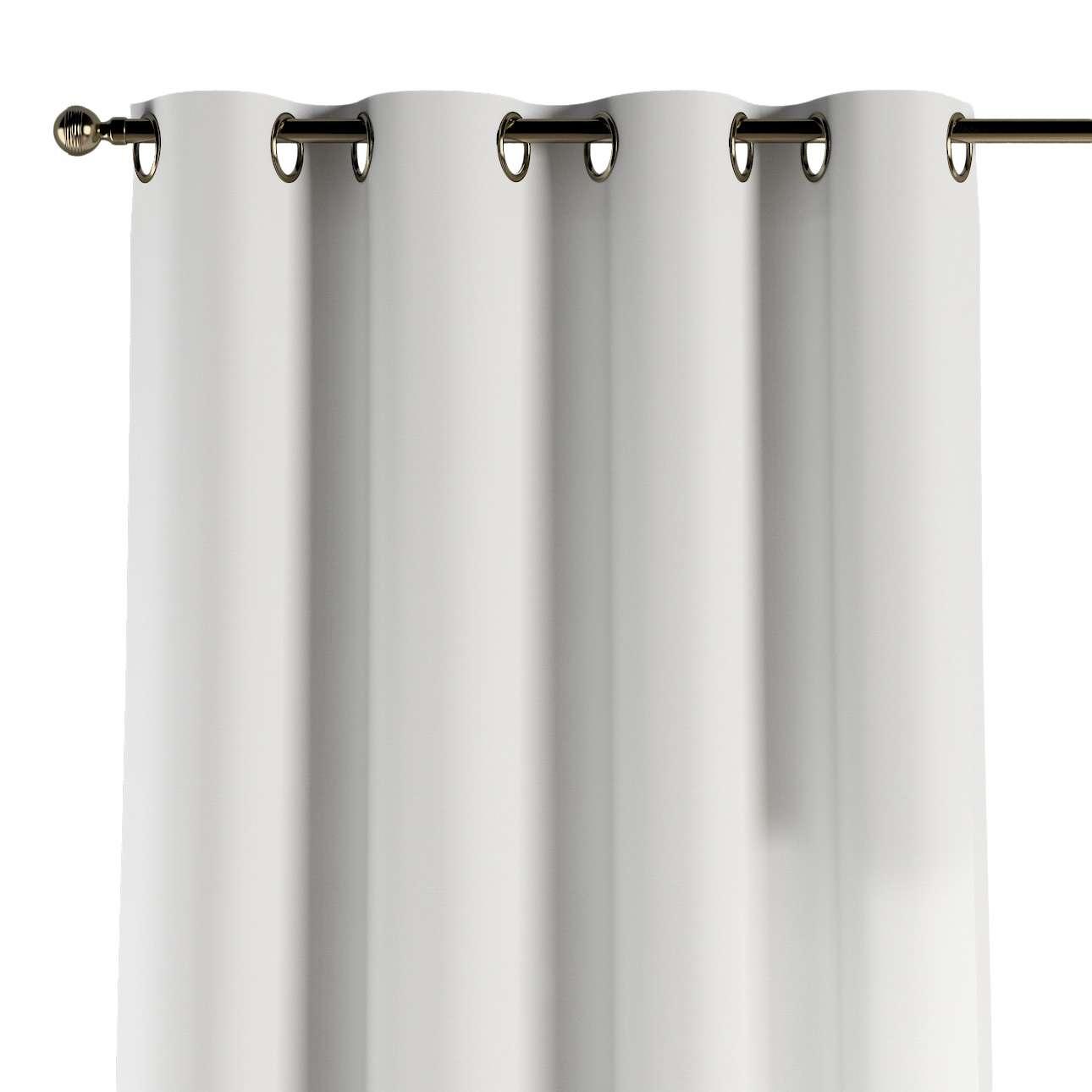 Gardin med maljer 1 stk. 130 x 260 cm fra kolleksjonen Cotton Panama, Stoffets bredde: 702-34