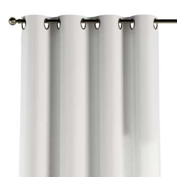 Gardin med öljetter 1 längd 130 x 260 cm i kollektionen Panama Cotton , Tyg: 702-34