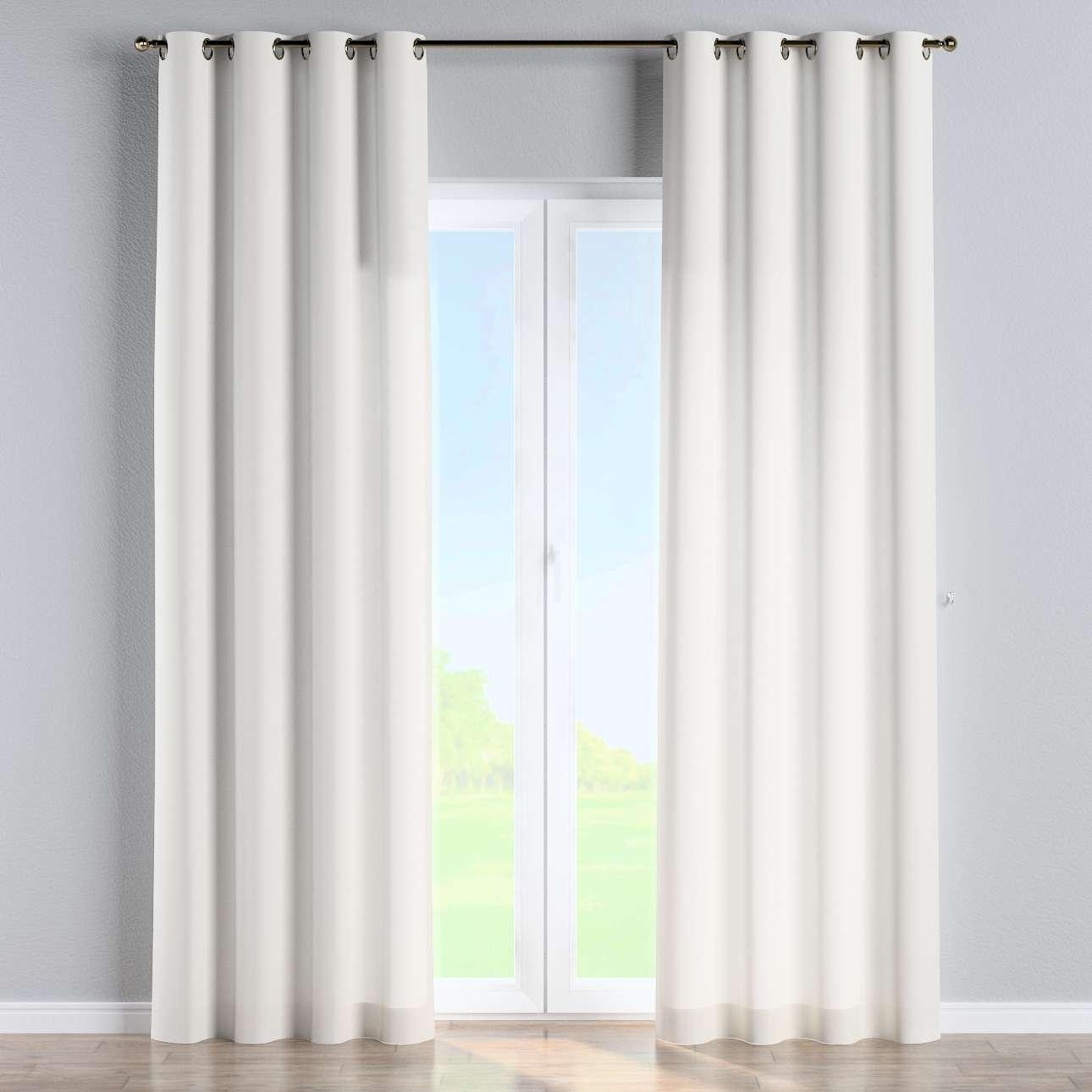 Gardin med øskner 130 x 260 cm fra kollektionen Cotton Panama, Stof: 702-34