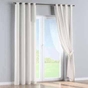 Zasłona na kółkach 1 szt. 1szt 130x260 cm w kolekcji Cotton Panama, tkanina: 702-34
