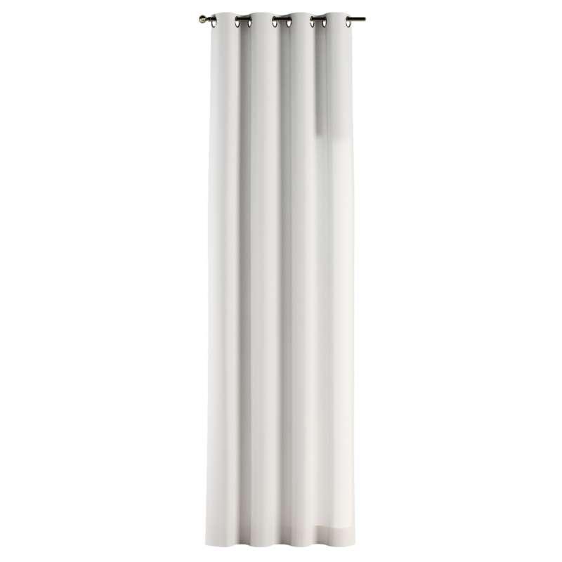 Gardin med öljetter 1 längd i kollektionen Panama Cotton, Tyg: 702-34
