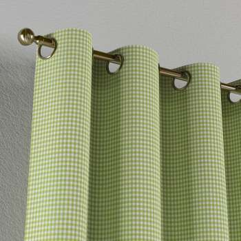 Eyelet curtains 130 × 260 cm (51 × 102 inch) in collection Quadro, fabric: 136-33