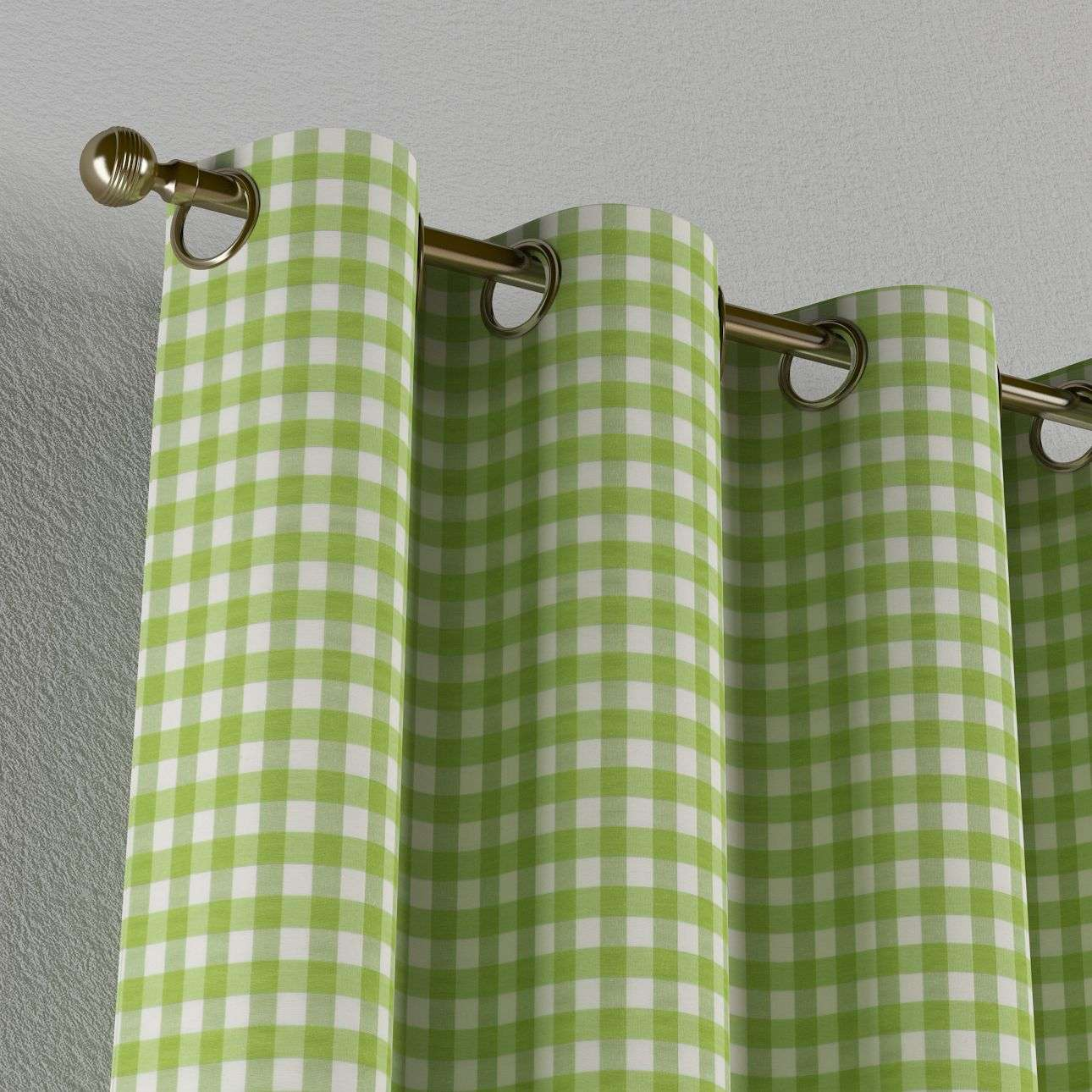 Eyelet curtains 130 x 260 cm (51 x 102 inch) in collection Quadro, fabric: 136-34