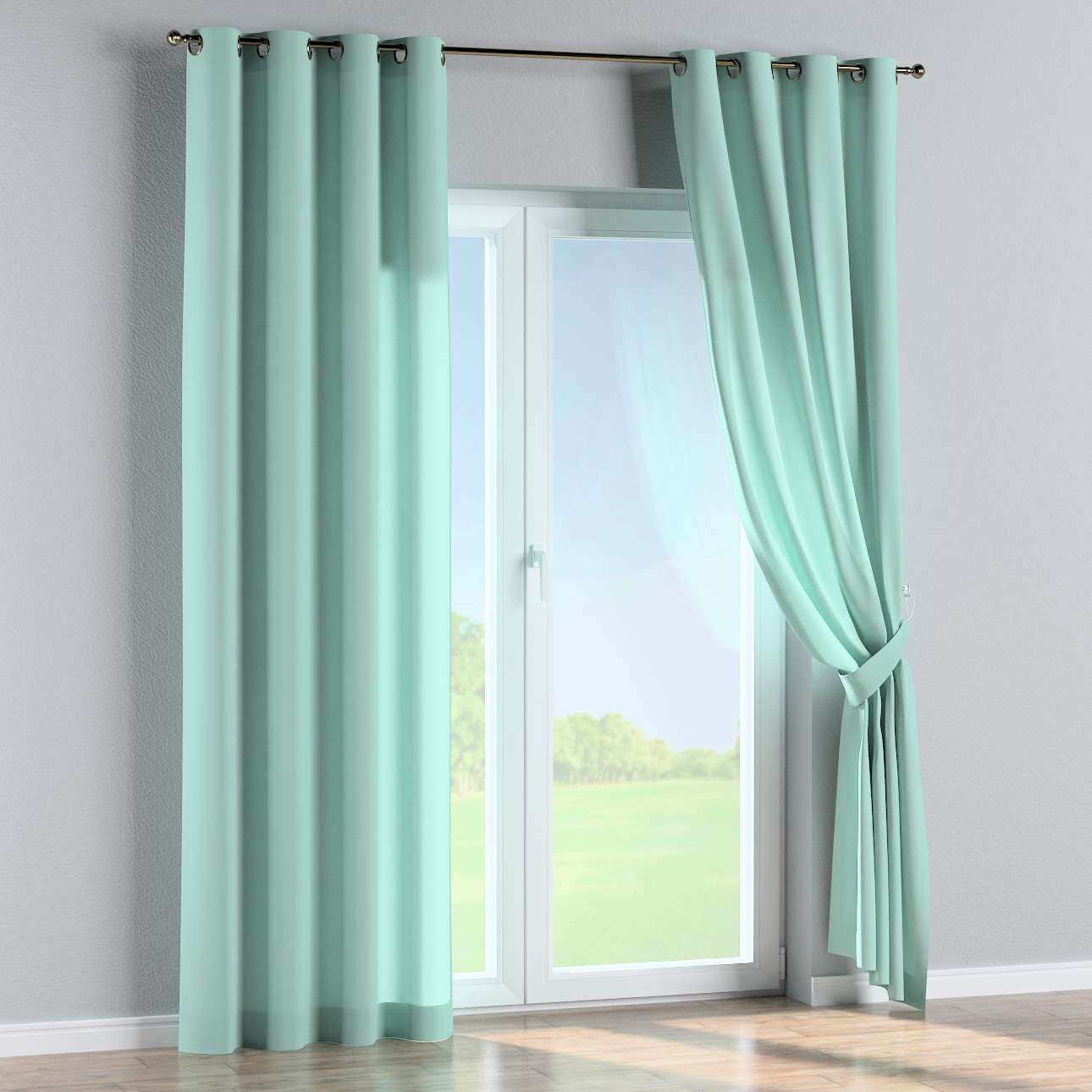 Eyelet curtains 130 x 260 cm (51 x 102 inch) in collection Loneta , fabric: 133-32
