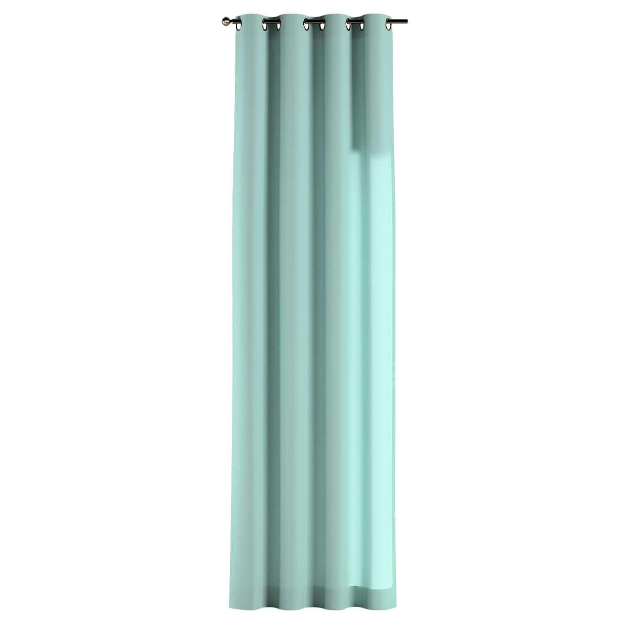 Zasłona na kółkach 1 szt. 1szt 130x260 cm w kolekcji Loneta, tkanina: 133-32