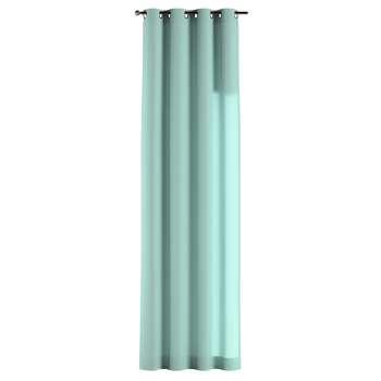 Gardin med öljetter 1 längd 130 x 260 cm i kollektionen Loneta , Tyg: 133-32