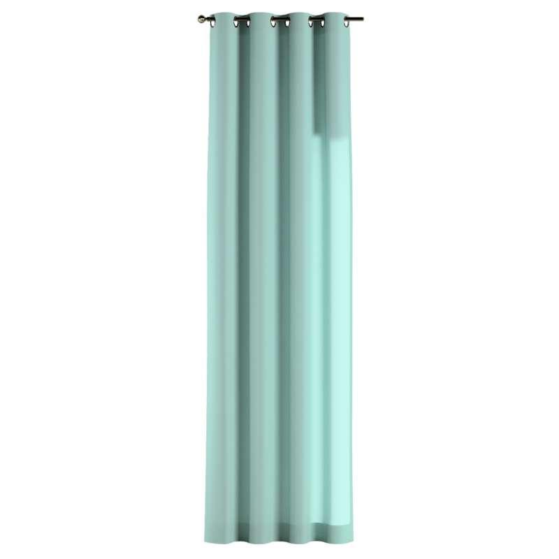 Gardin med öljetter 1 längd i kollektionen Loneta, Tyg: 133-32