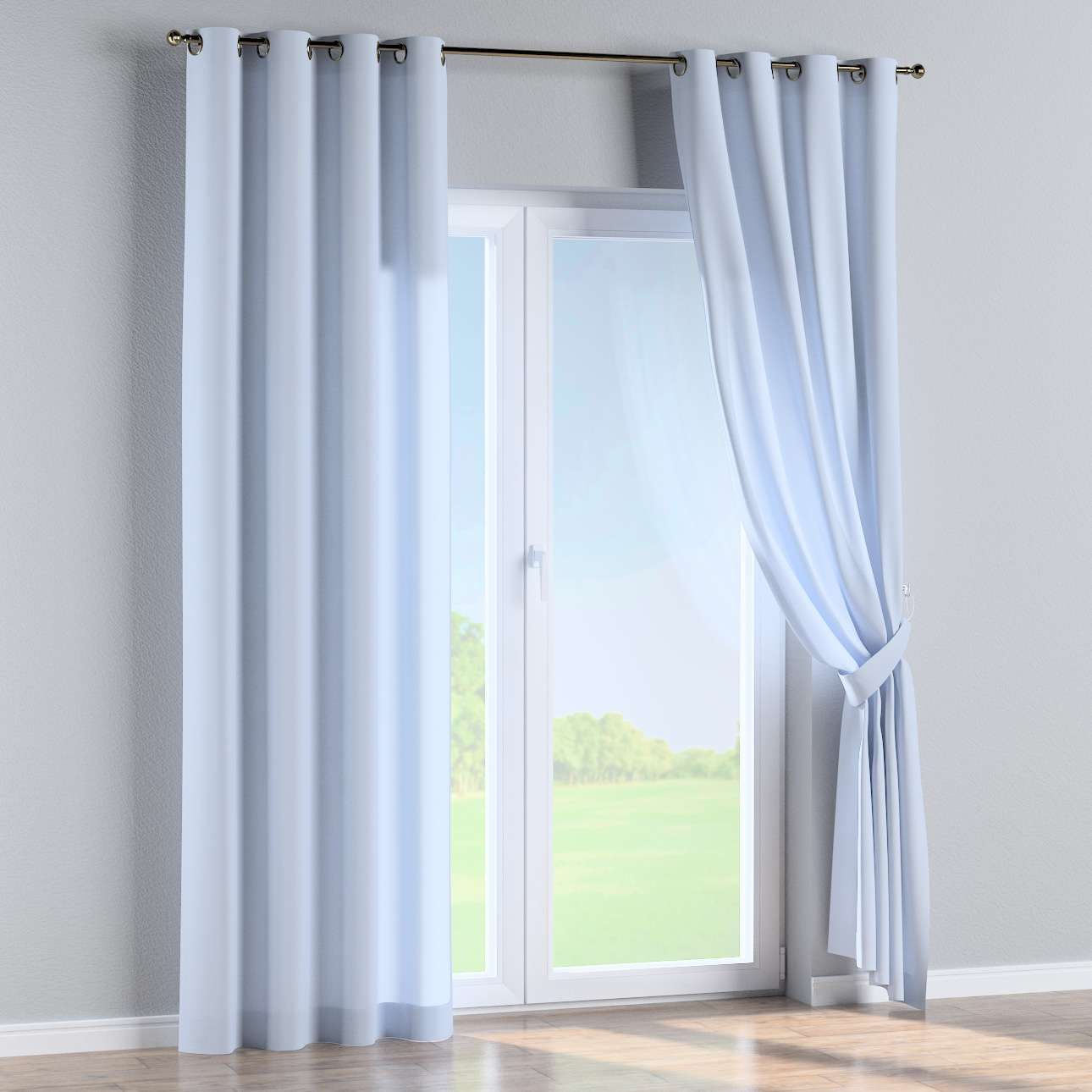 Eyelet curtains 130 x 260 cm (51 x 102 inch) in collection Loneta , fabric: 133-35