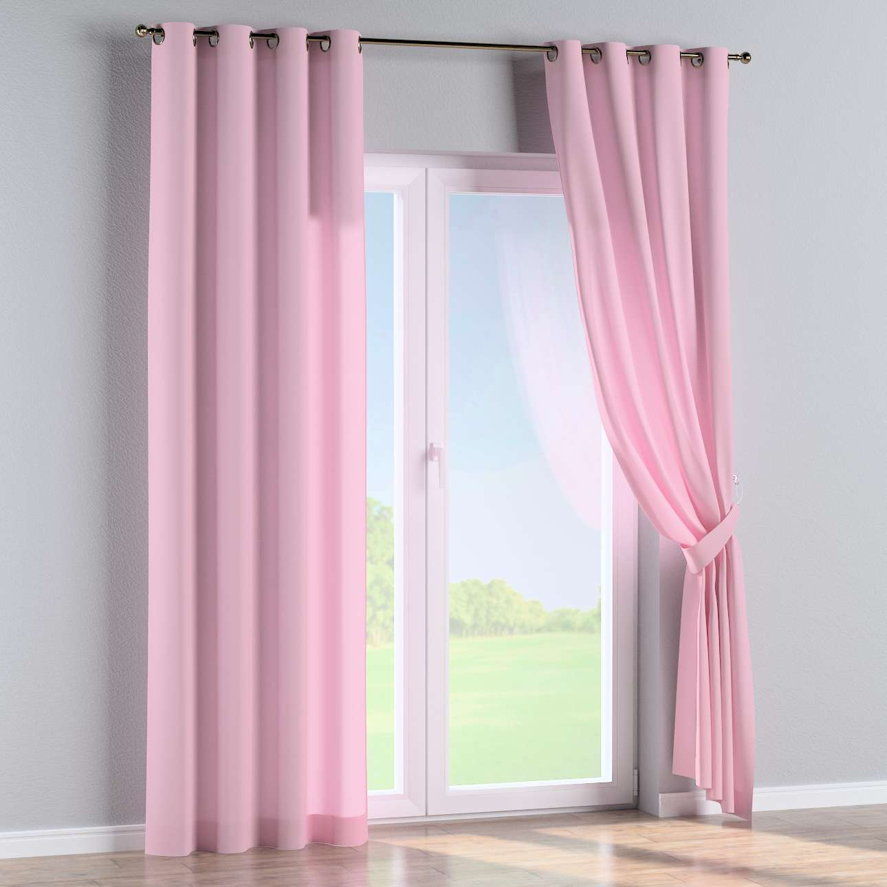 Eyelet curtains 130 x 260 cm (51 x 102 inch) in collection Loneta , fabric: 133-36