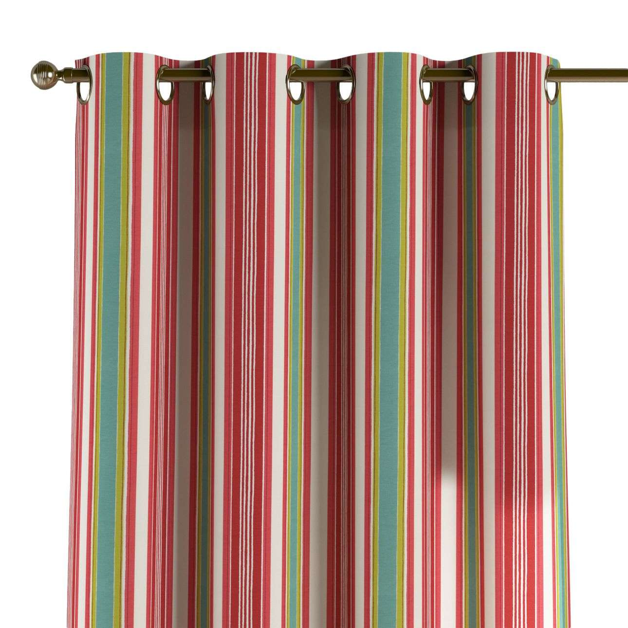 Eyelet curtains in collection Londres, fabric: 122-01