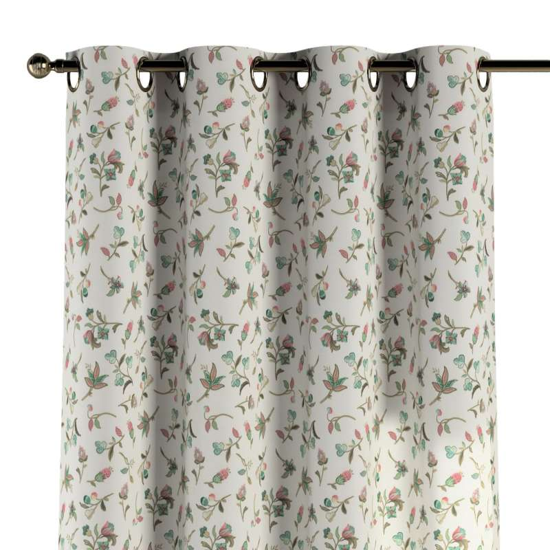 Eyelet curtain in collection Londres, fabric: 122-02