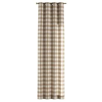 Záves s kolieskami V kolekcii Quadro, tkanina: 136-08