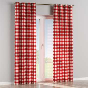 Eyelet curtains 130 x 260 cm (51 x 102 inch) in collection Quadro, fabric: 136-18