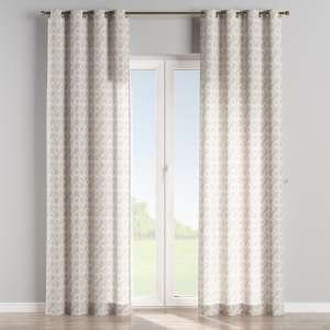 Eyelet curtains 130 x 260 cm (51 x 102 inch) in collection Flowers, fabric: 311-11