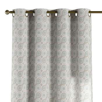 Eyelet curtains 130 × 260 cm (51 × 102 inch) in collection Flowers, fabric: 311-13