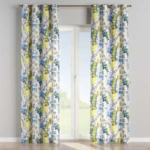 Eyelet curtains 130 x 260 cm (51 x 102 inch) in collection Freestyle, fabric: 135-08