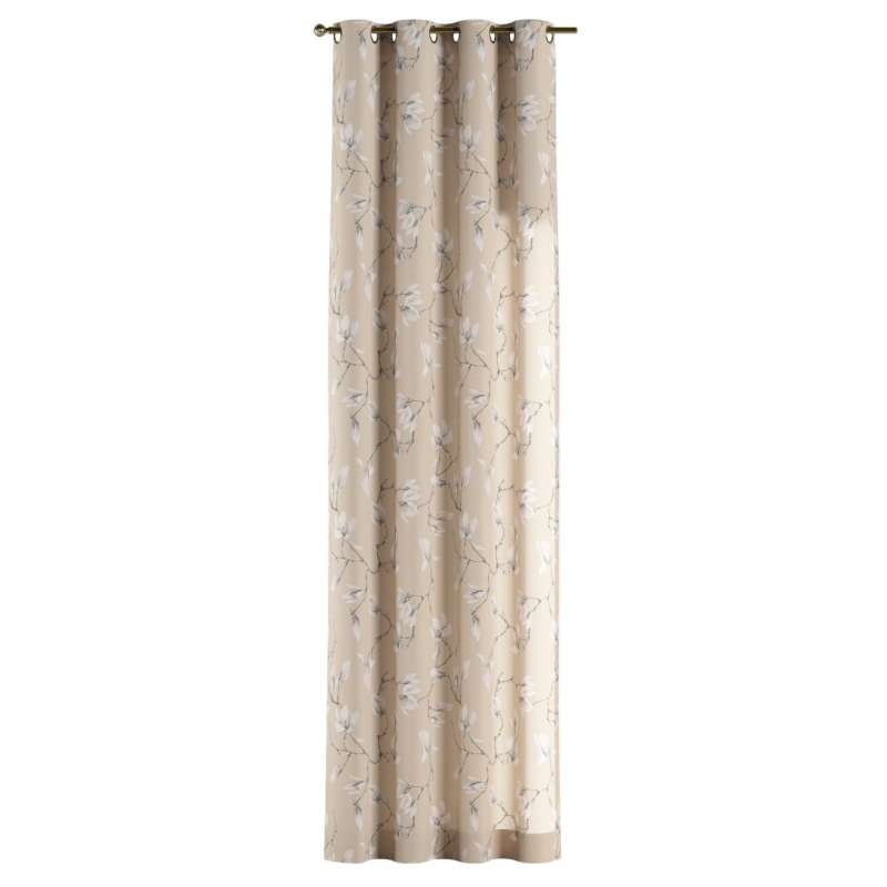 Eyelet curtain in collection Flowers, fabric: 311-12