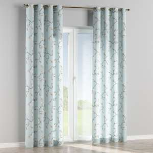 Eyelet curtains 130 x 260 cm (51 x 102 inch) in collection Flowers, fabric: 311-14