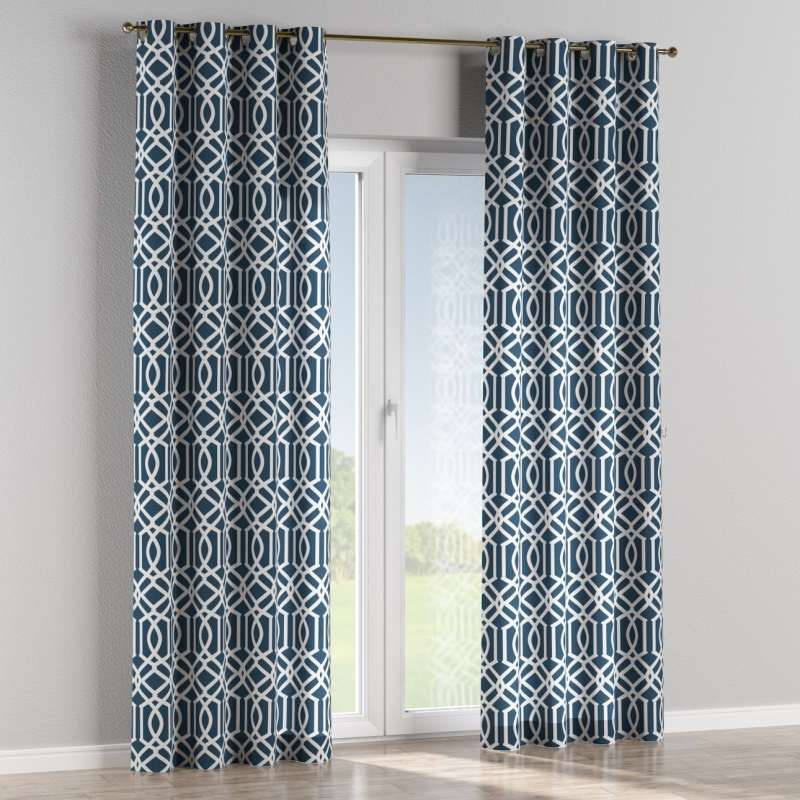 Eyelet curtain in collection Comics/Geometrical, fabric: 135-10