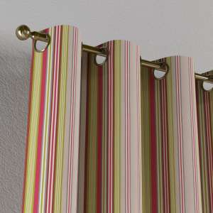 Eyelet curtains 130 x 260 cm (51 x 102 inch) in collection Flowers, fabric: 311-16