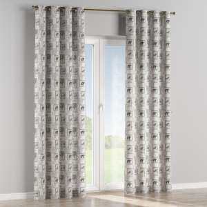 Eyelet curtains 130 x 260 cm (51 x 102 inch) in collection Nordic, fabric: 630-18
