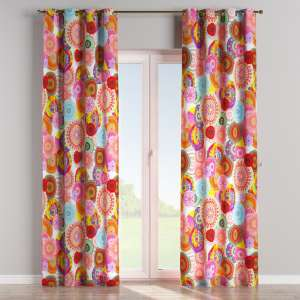 Eyelet curtains 130 x 260 cm (51 x 102 inch) in collection Comic Book & Geo Prints, fabric: 135-22