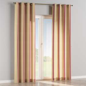 Eyelet curtains 130 x 260 cm (51 x 102 inch) in collection Londres, fabric: 122-09