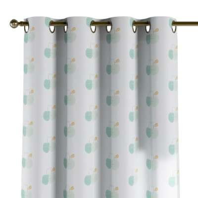 Eyelet curtains in collection Apanona, fabric: 151-02
