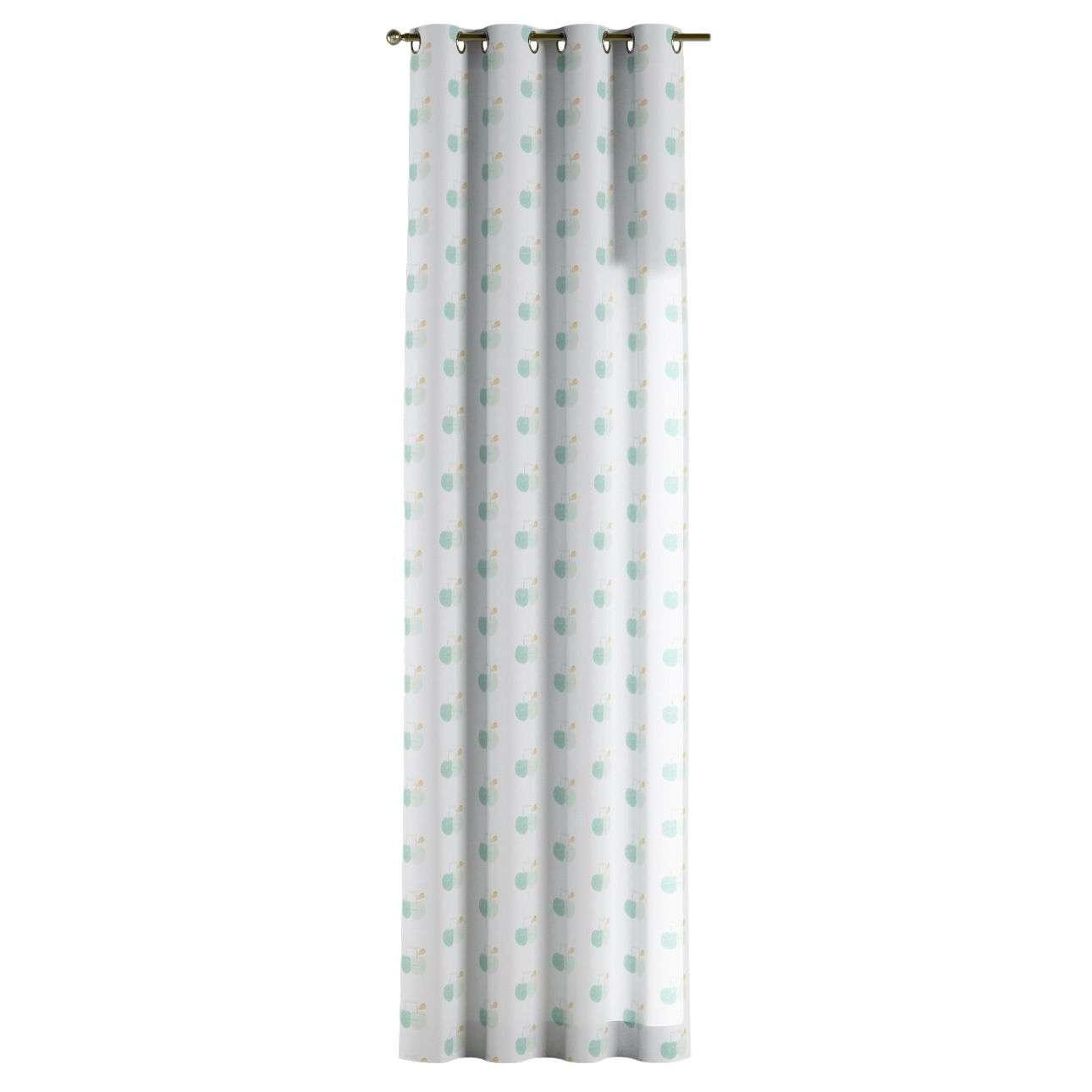 Zasłona na kółkach 1 szt. 1szt 130x260 cm w kolekcji Apanona, tkanina: 151-02