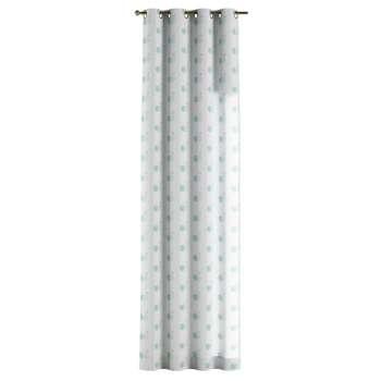 Gardin med öljetter 1 längd 130 x 260 cm i kollektionen Apanona , Tyg: 151-02